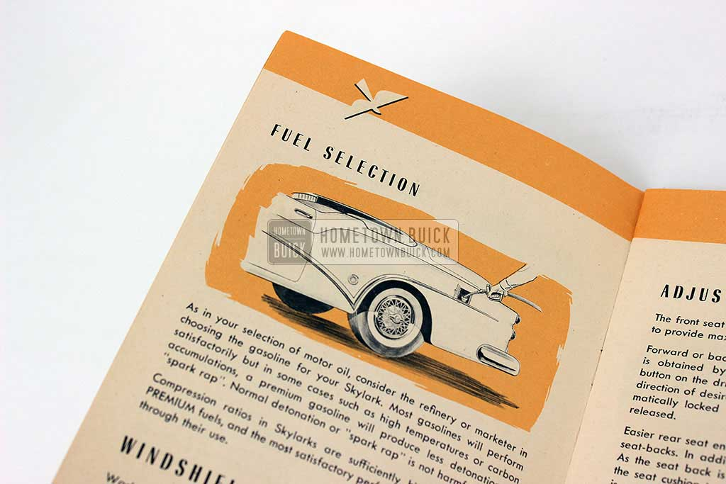 1953 Buick Skylark Owners Manual 06