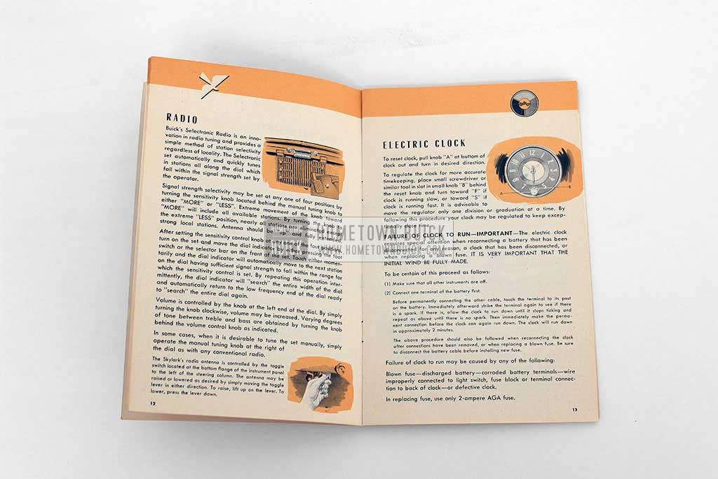 1953 Buick Skylark Owners Manual 07