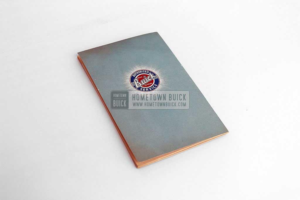 1953 Buick Skylark Owners Manual 10