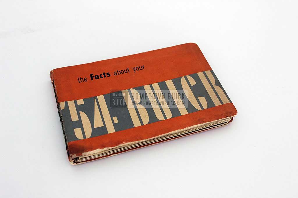 1954 Buick Dealer Facts Book 02