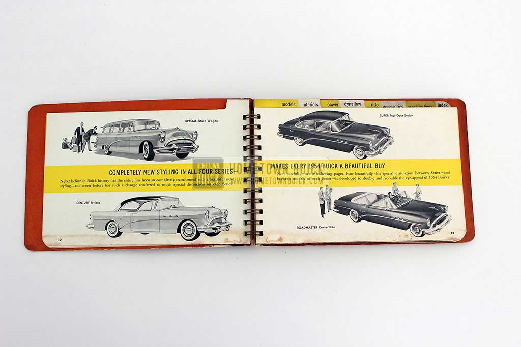 1954 Buick Dealer Facts Book 05