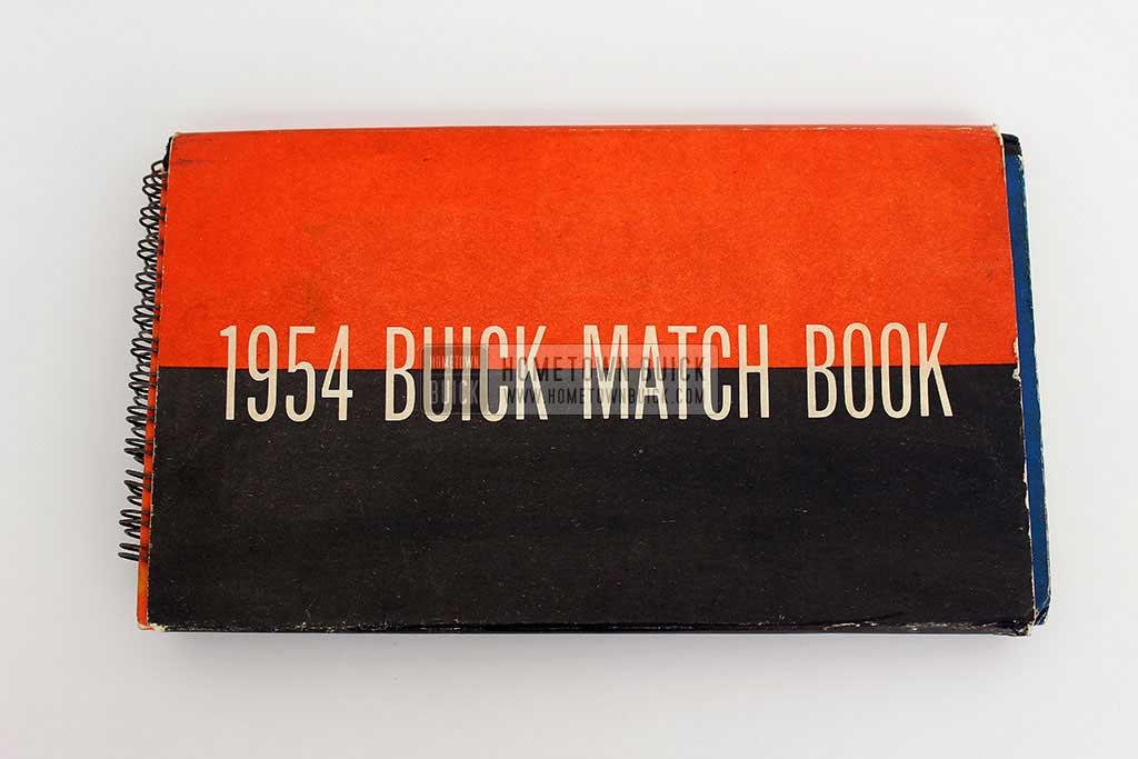 1954 Buick Match Book 02