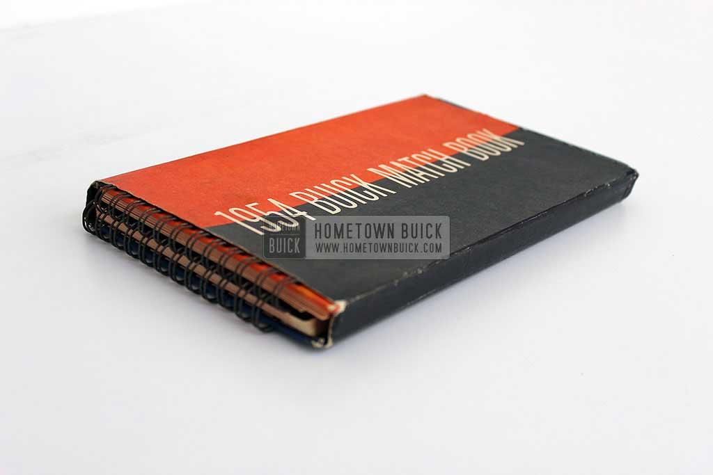1954 Buick Match Book 03