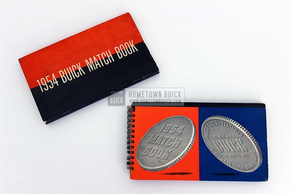 1954 Buick Match Book 04