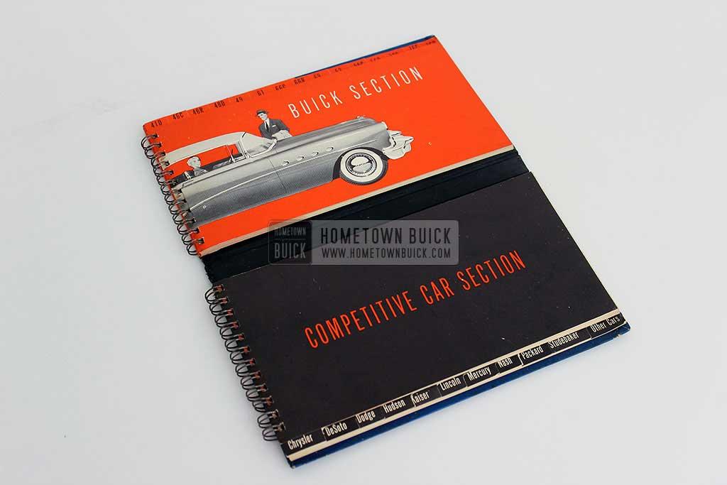 1954 Buick Match Book 05
