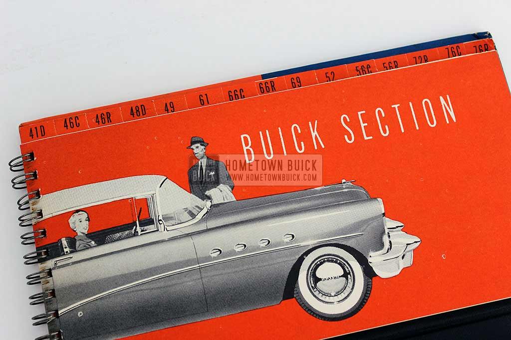 1954 Buick Match Book 06