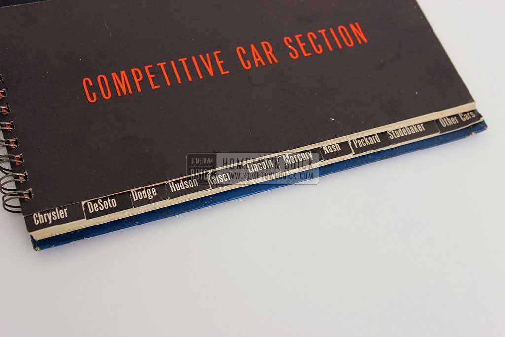 1954 Buick Match Book 07