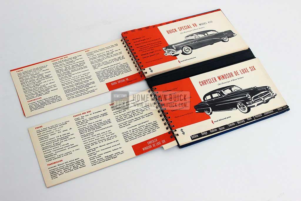 1954 Buick Match Book 09