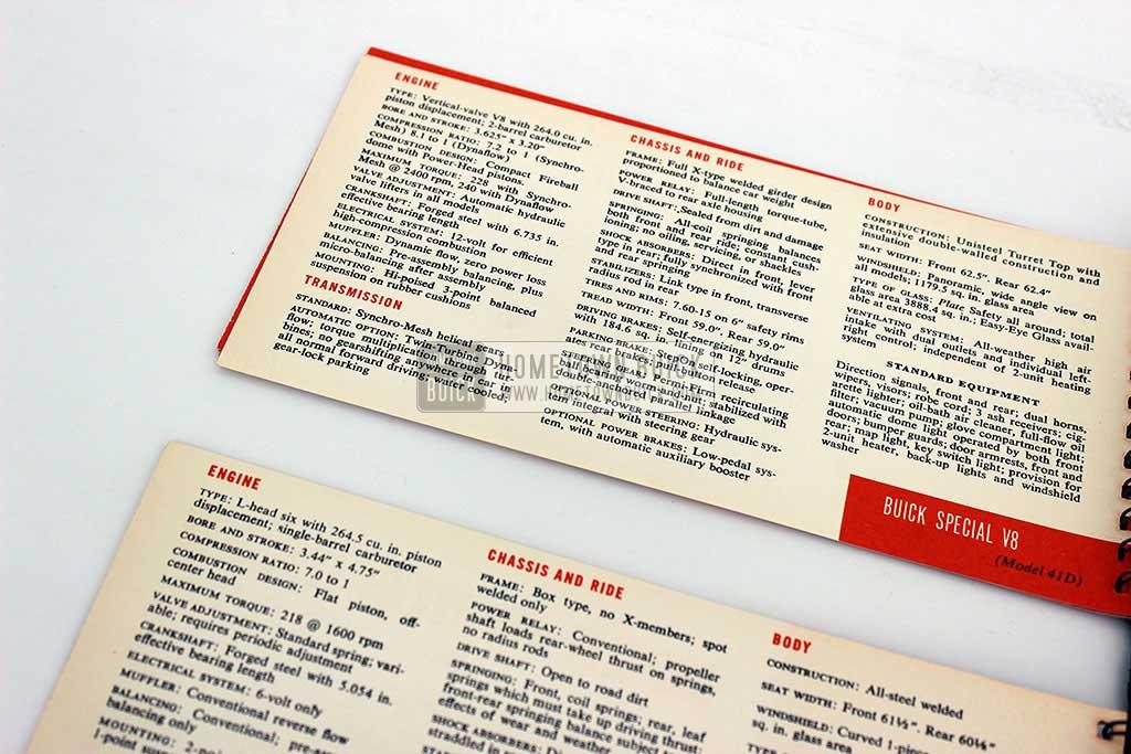 1954 Buick Match Book 11