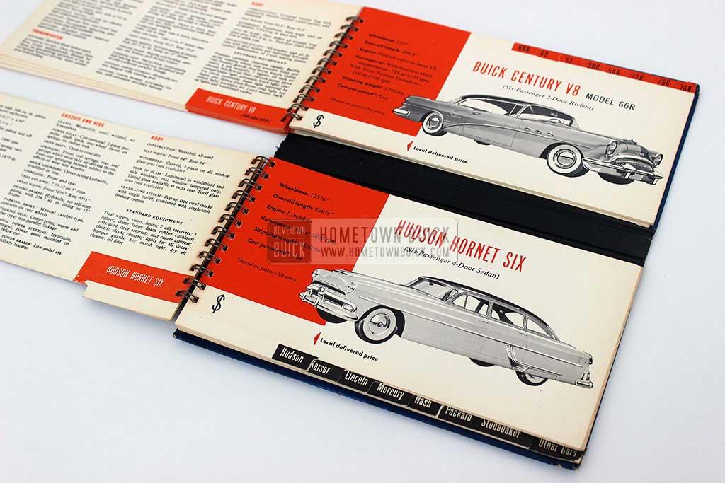 1954 Buick Match Book 14
