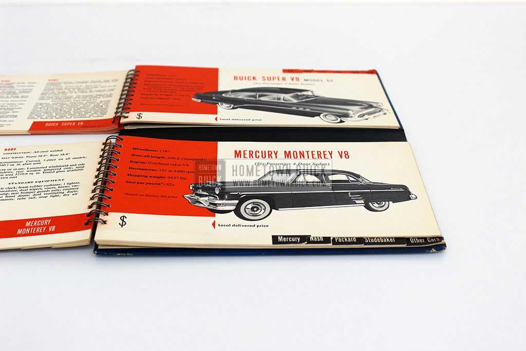 1954 Buick Match Book 15