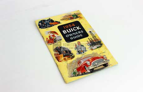 1954 Buick Owners Manual 01