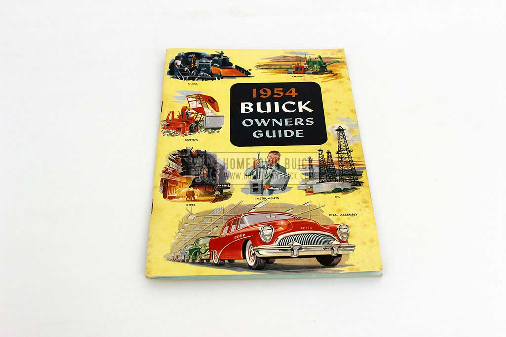 1954 Buick Owners Manual 02