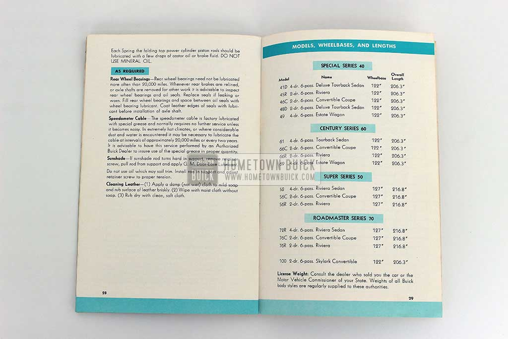 1954 Buick Owners Manual 09