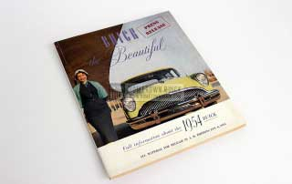 1954 Buick Press Release Kit 01