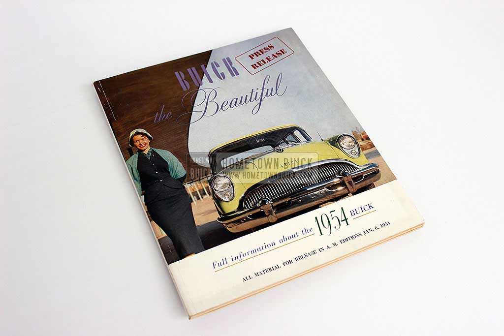 1954 Buick Press Release Kit 01