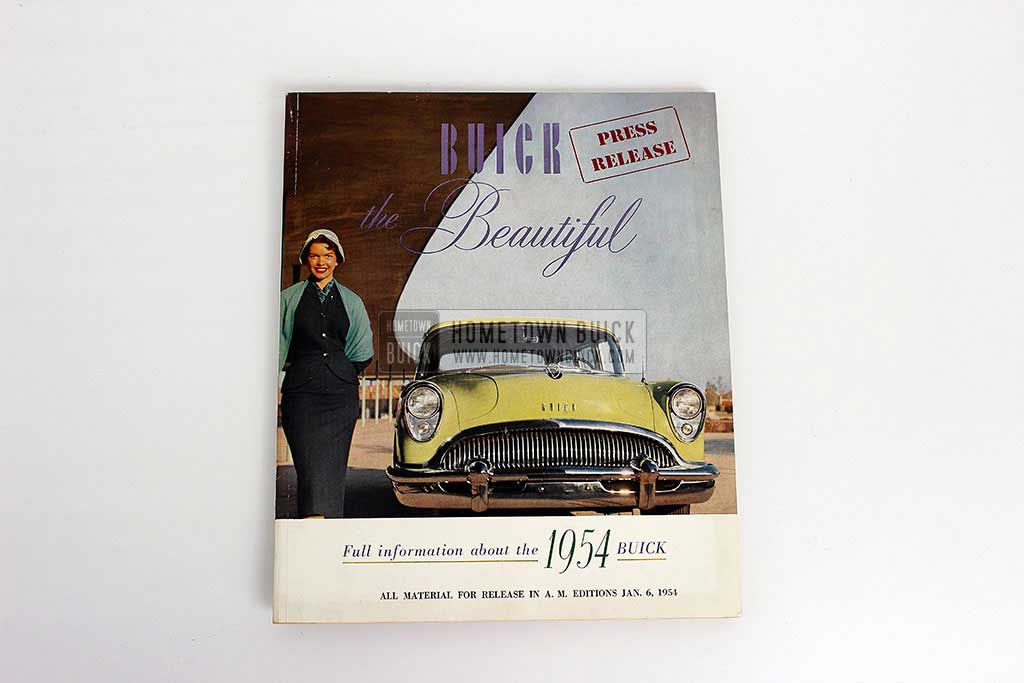 1954 Buick Press Release Kit 02