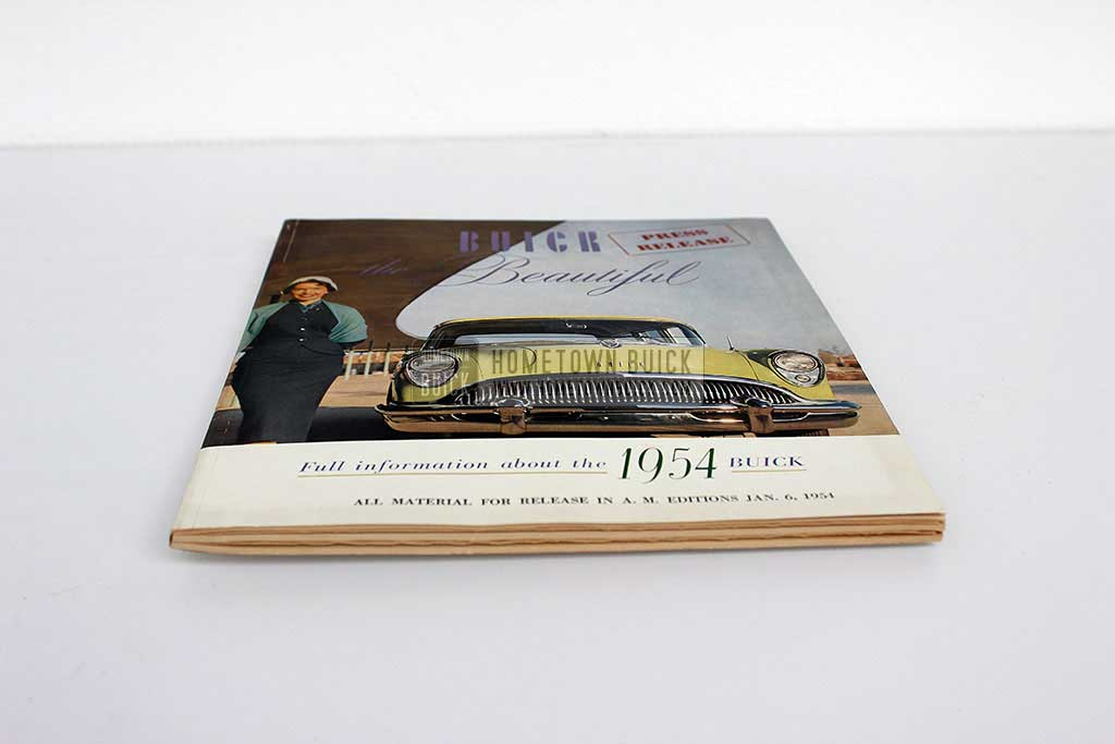 1954 Buick Press Release Kit 03