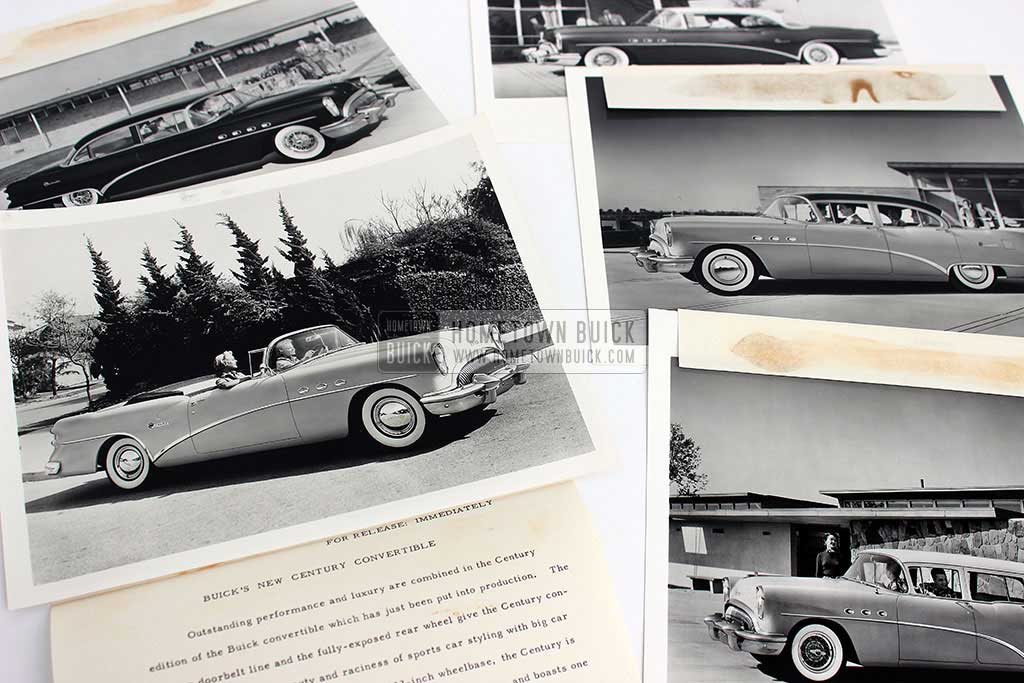1954 Buick Press Release Kit 11
