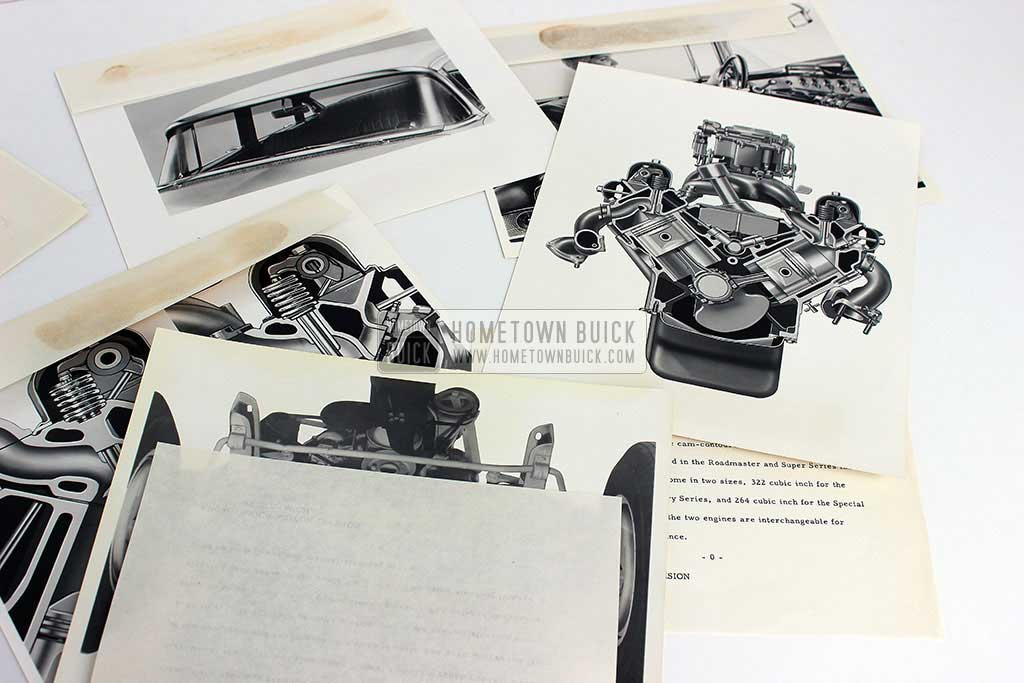 1954 Buick Press Release Kit 12