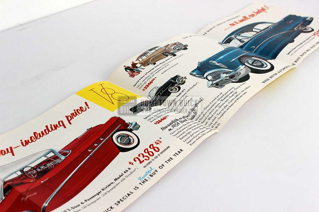 1954 Buick Special 3rd Place Flyer 05