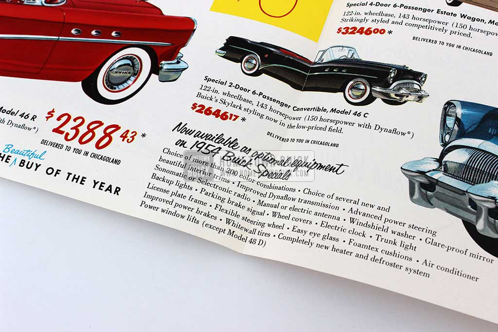 1954 Buick Special 3rd Place Flyer 06