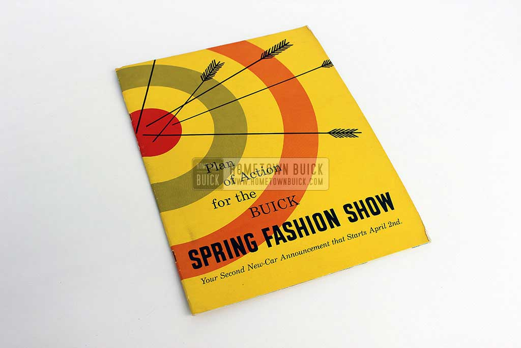 1954 Buick Spring Fashion Show Plan of Action 01