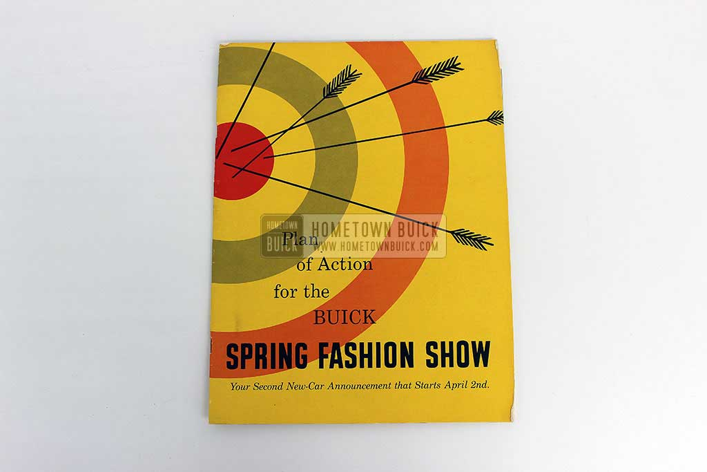 1954 Buick Spring Fashion Show Plan of Action 02