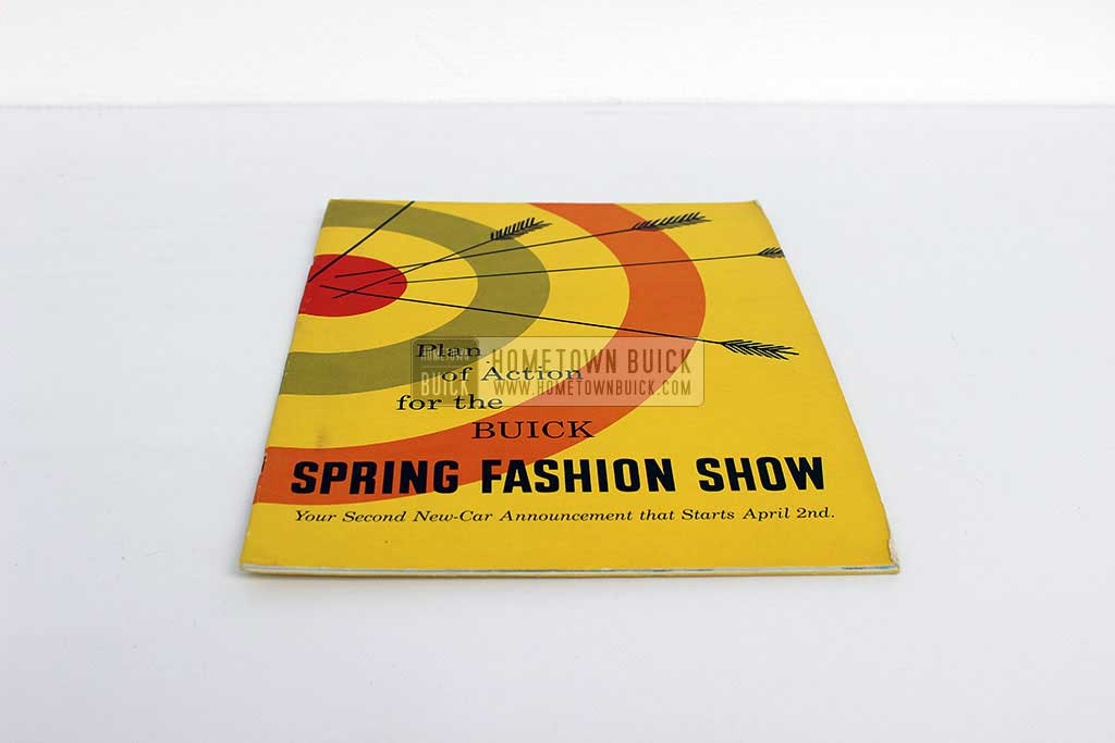 1954 Buick Spring Fashion Show Plan of Action 03