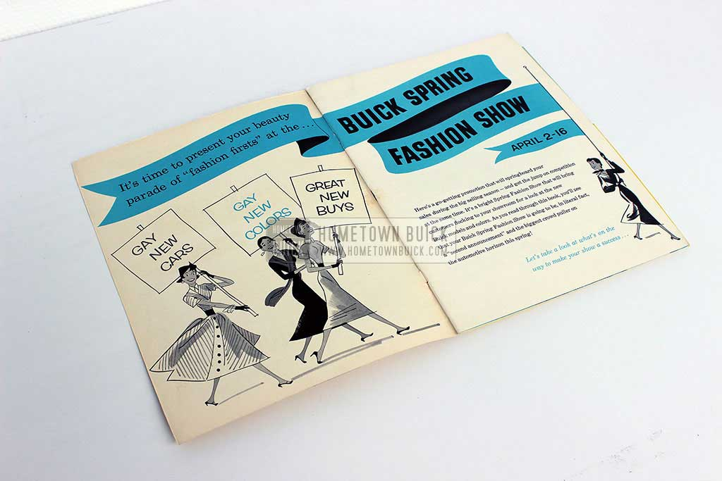 1954 Buick Spring Fashion Show Plan of Action 04