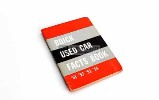 1954 Buick Used Car Facts Book 01