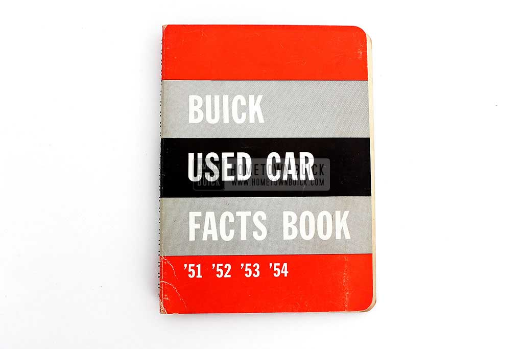 1954 Buick Used Car Facts Book 02
