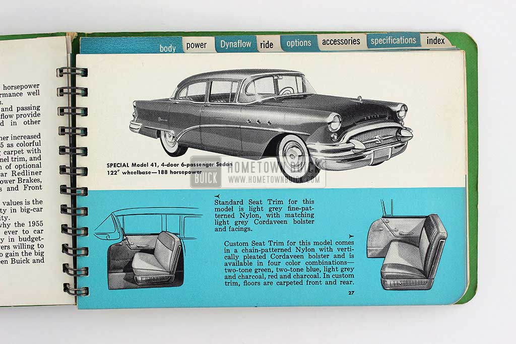 1955 Buick Dealer Facts Book 08