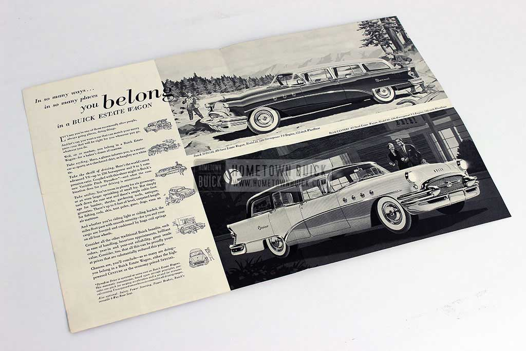 1955 Buick Estate Wagons Flyer 06