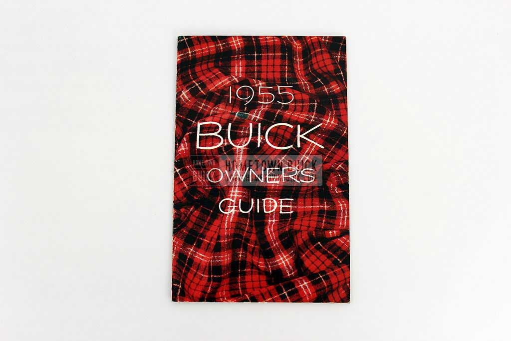 1955 Buick Owners Manual 01