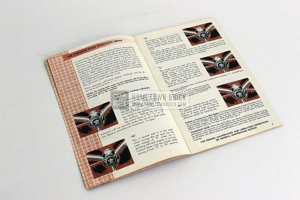 1955 Buick Owners Manual 06