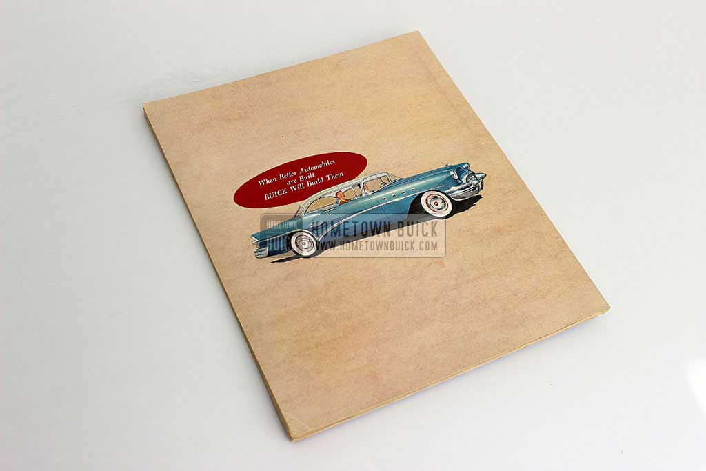 1955 Buick Press Release Kit 13