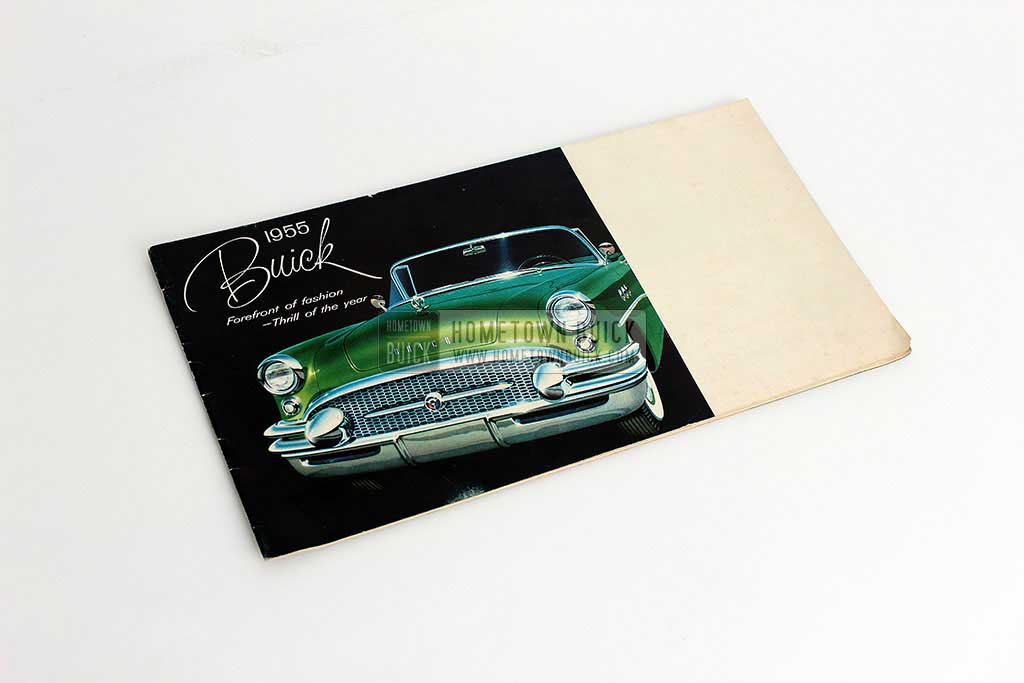1955 Buick Sales Brochure - Hometown Buick