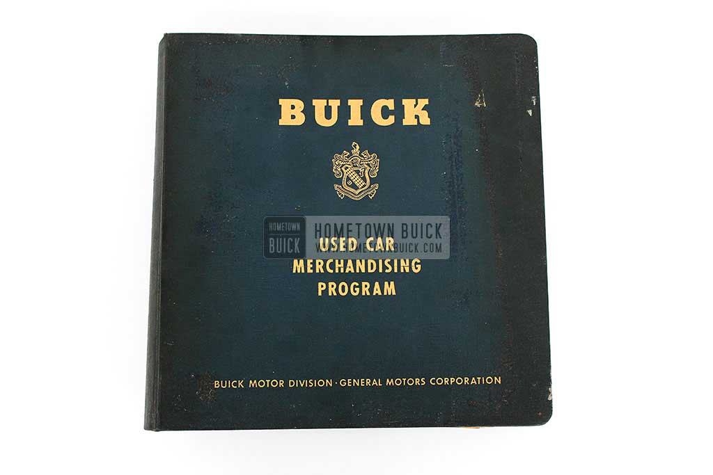 1955 Buick Used Car Merchandising Program 02
