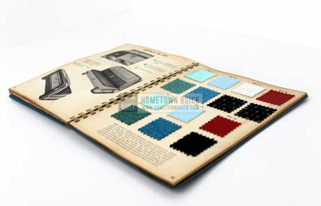 1956 Buick Colors & Fabrics Book 09