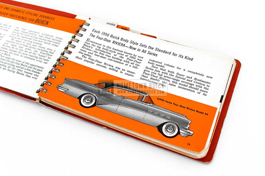 1956 Buick Dealer Facts Book 06
