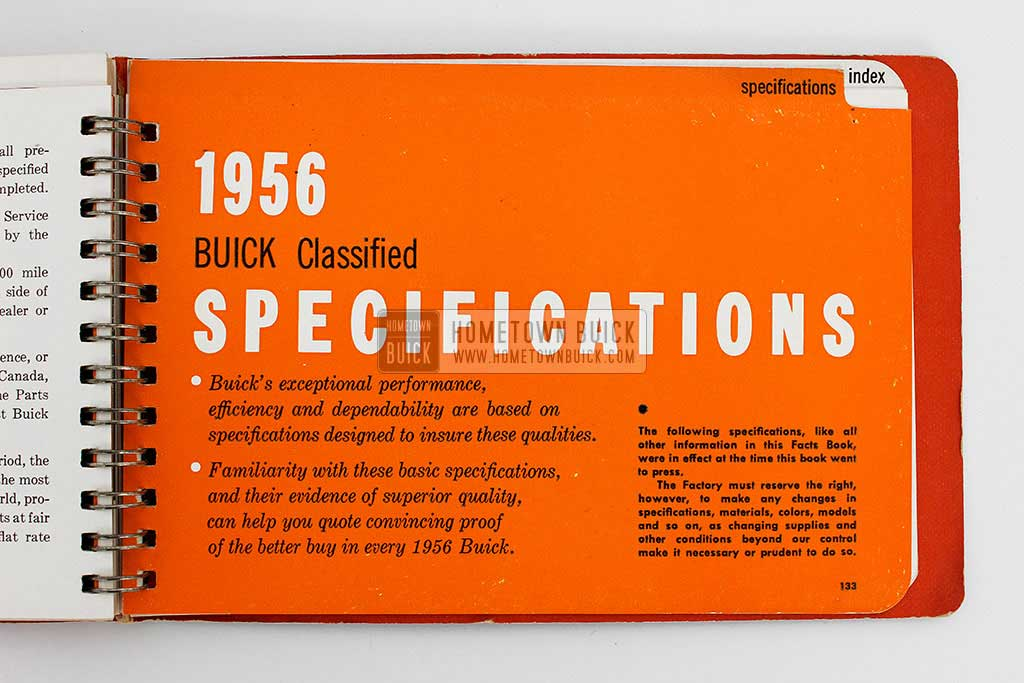 1956 Buick Dealer Facts Book 18