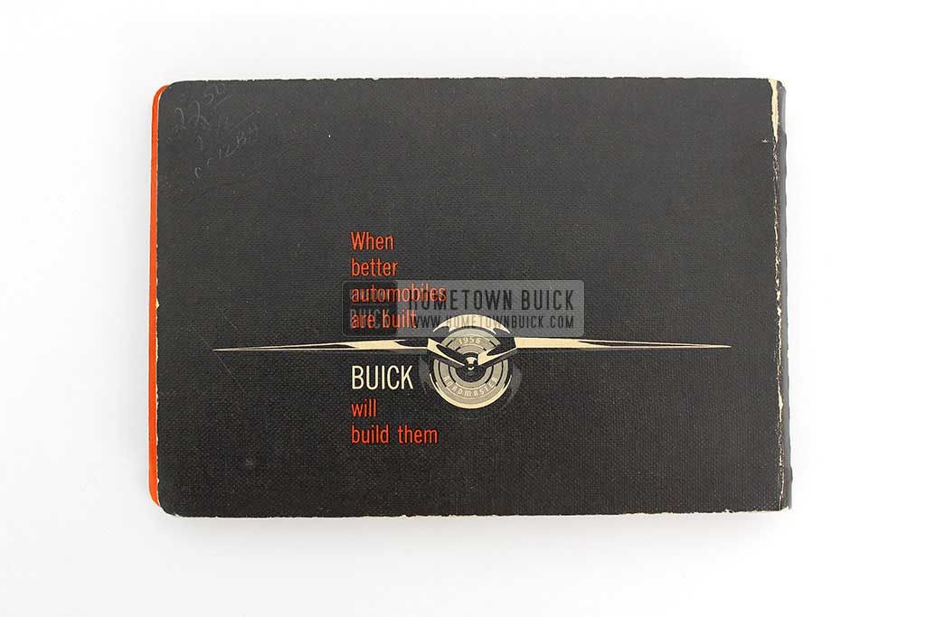 1956 Buick Dealer Facts Book 20