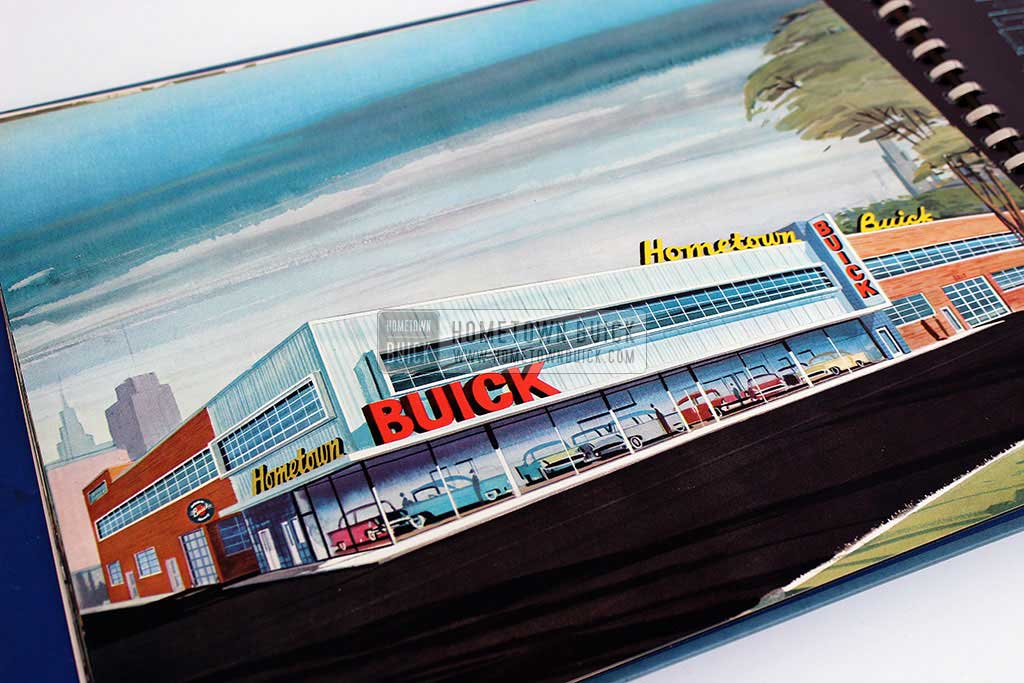 1956 Buick Dealership Building Layout Guide 11
