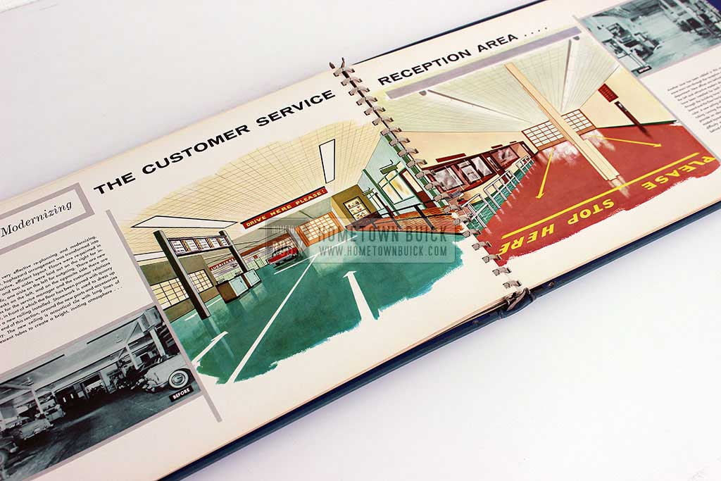 1956 Buick Dealership Building Layout Guide 16