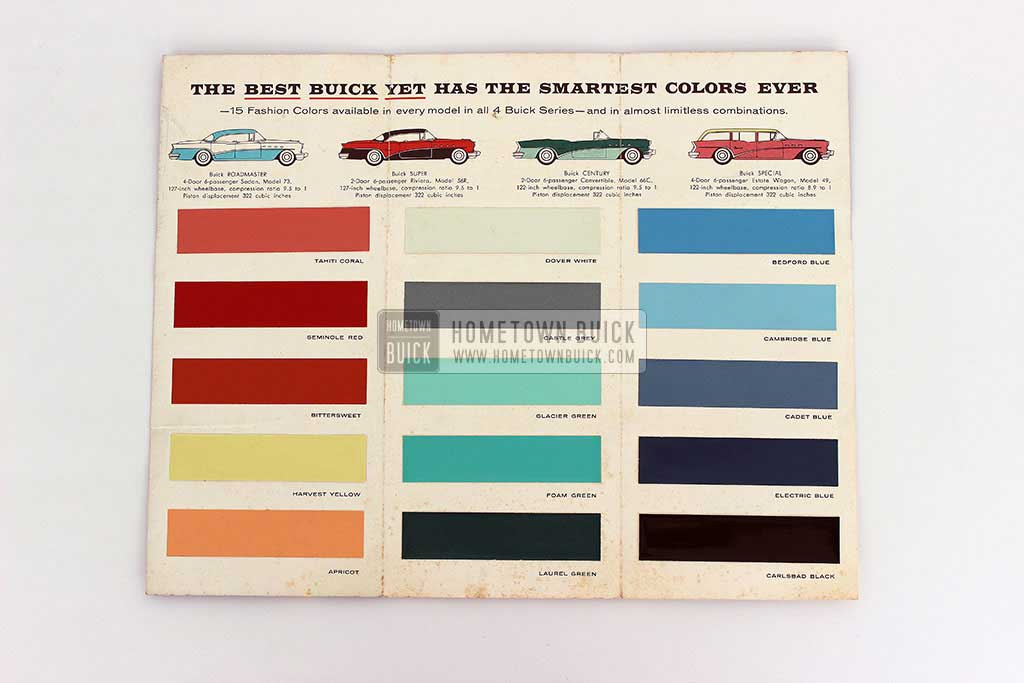 1956 Buick Fashion Colors Flyer 05