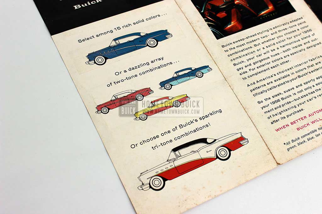 1956 Buick Fashion Colors Flyer 07