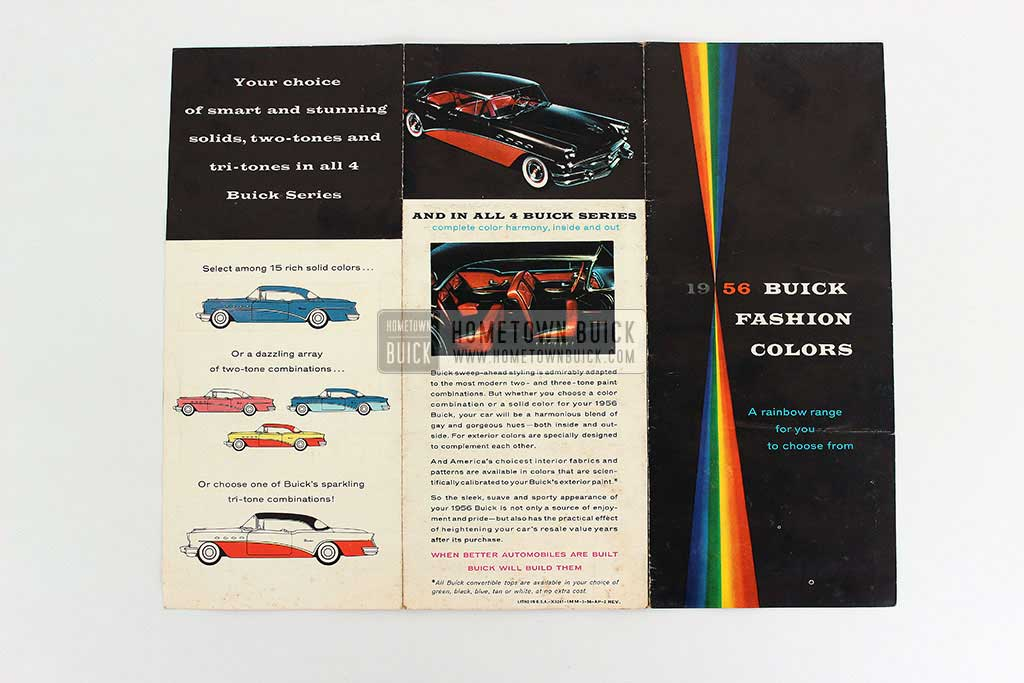 1956 Buick Fashion Colors Flyer 08