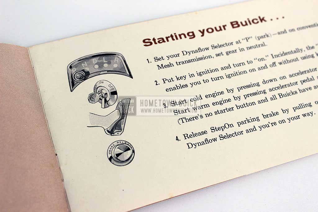 1956 Buick Important Tips Brochure 03