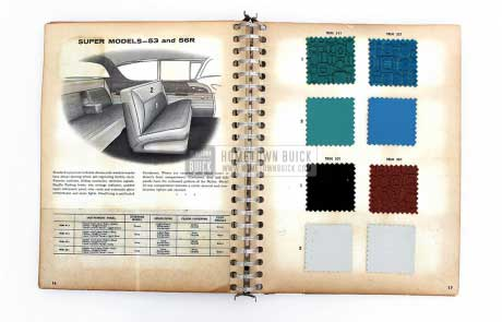 1957 Buick Colors & Fabrics Book 08